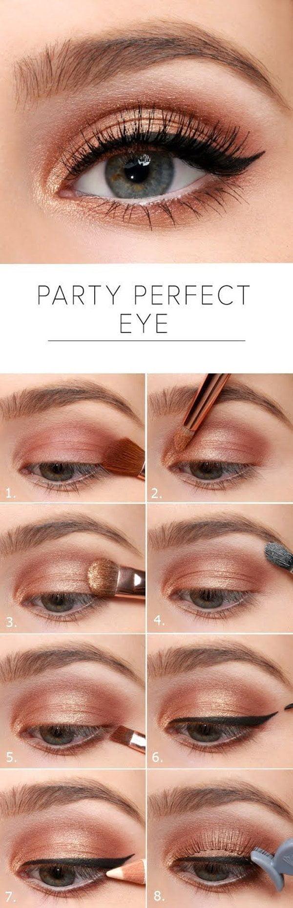 Die Besten Augen Makeup Tutorials Auf Pinterest Schritt Für Schritt
