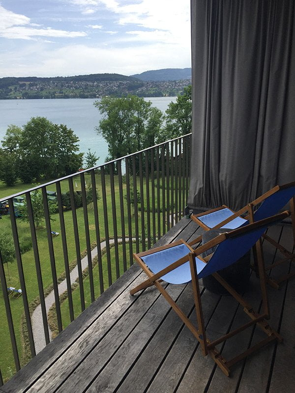 Junior Suite Süd (Aussicht) im Seerose Resort & Spa: Wellness-Tipps mit Hey Pretty