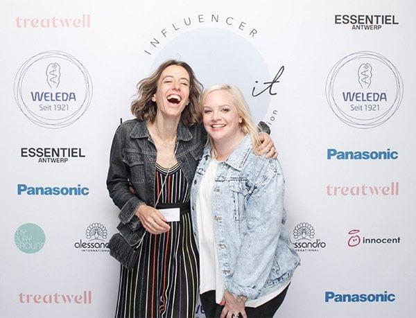 Steffi Hidber of Hey Pretty & Katrin Roth of Sonrisa, Move It Event in Zurich #swissmoveit