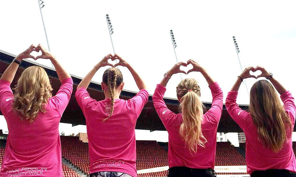 Pink Ribbon Charity Walk 2017: Komm' ins Hey Pretty Team! (Image Copyright: Pink Ribbon)