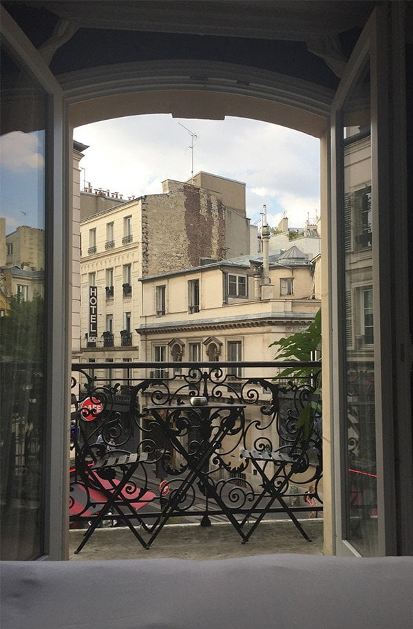 View from my room at the Le Grand Pigalle Hotel Paris (Image by Hey Pretty)