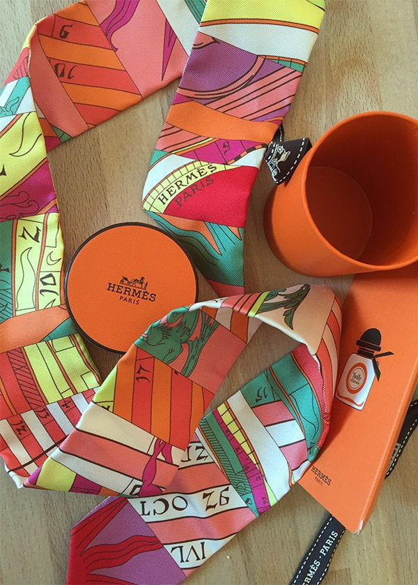 Twilly d'Hermès Scarf (for the launch of the Eau de Parfum): Image and Review by Hey Pretty