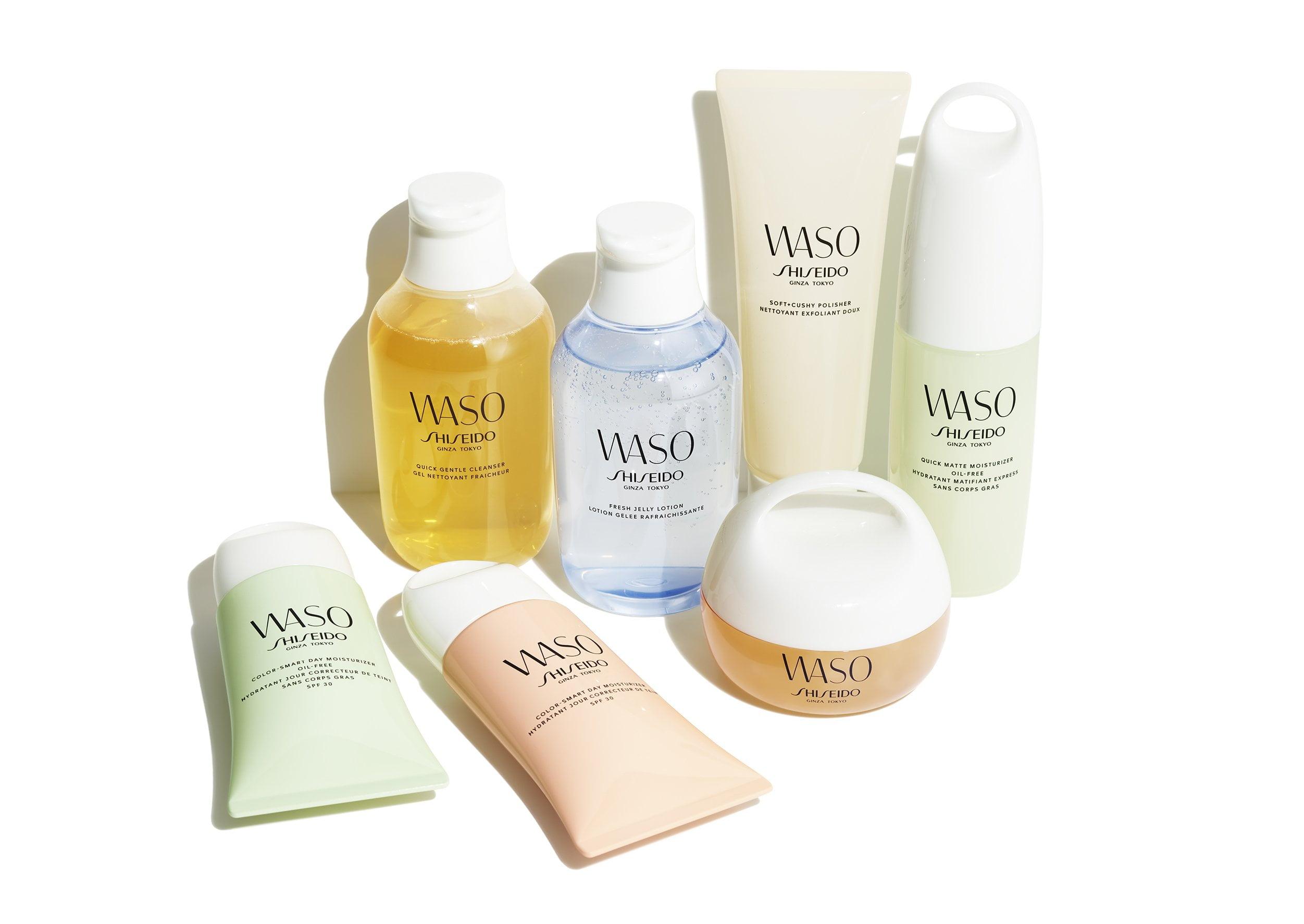 WASO by Shiseido Skincare Range