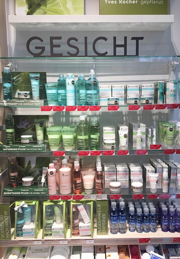 Yves Rocher Boutique Zürich Kuttelgasse: Hey Pretty testet die Gratis Hautanalyse (Impressionen Laden)