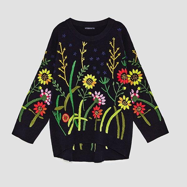Zara FW 2017: Bestickter Pullover (Hey Pretty Fashion Flash)