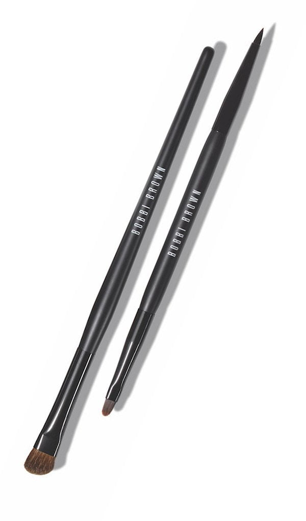 Bobbi Brown Eyeliner Brush and Angled Eyeshadow Brush (Downtown Cool Collection Fall 2017)