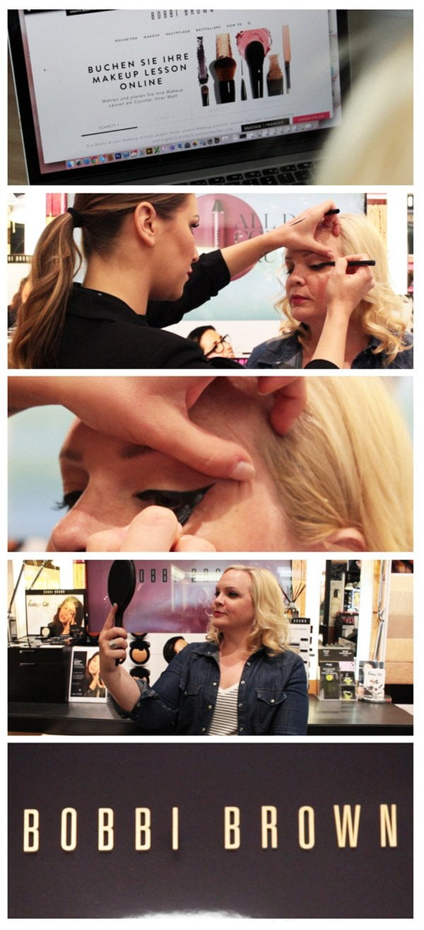 Bobbi Brown Make-Up Lesson buchen mit Hey Pretty