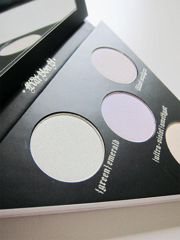 Kat Von D Alchemist Holographic Palette (Closeup), Review and Image by Hey Pretty