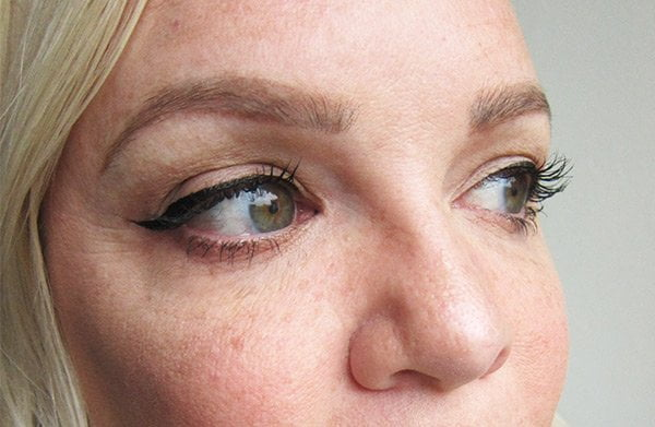 Kat Von D Tattoo Liner, Swatched by Hey Pretty Beauty Blog
