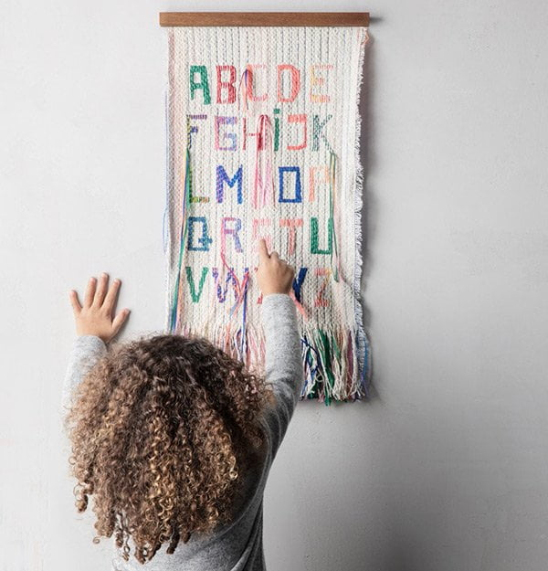 Coole Kinder-Webshops Schweiz: Little Vikings (Ferm Living ABC Wall Deco)