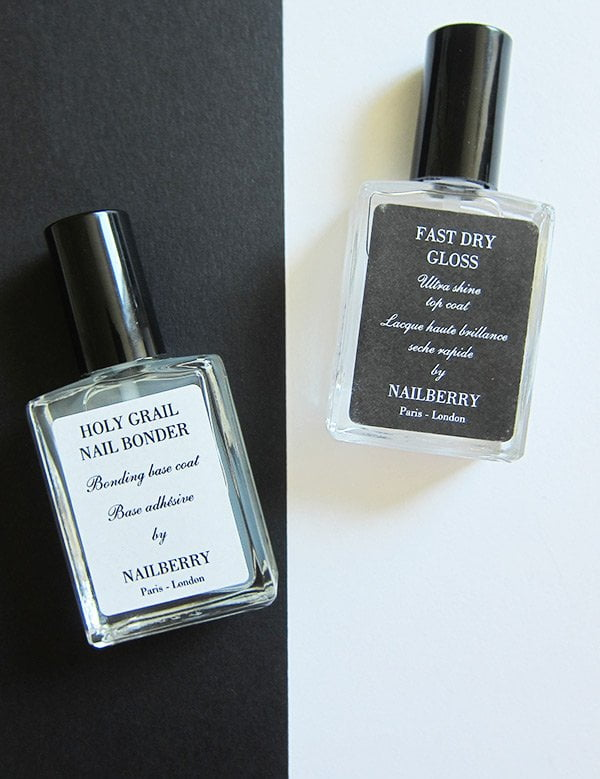 Nailberry Erfahrungsbericht auf Hey Pretty Beauty Blog: Base Coat and Top Coat (Non Toxic Nail Polishes)
