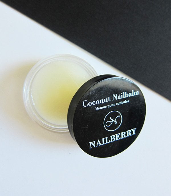 Nailberry Coconut Nail Balm (Review and Image by Hey Pretty Beauty Blog) – Nontoxic nail polish