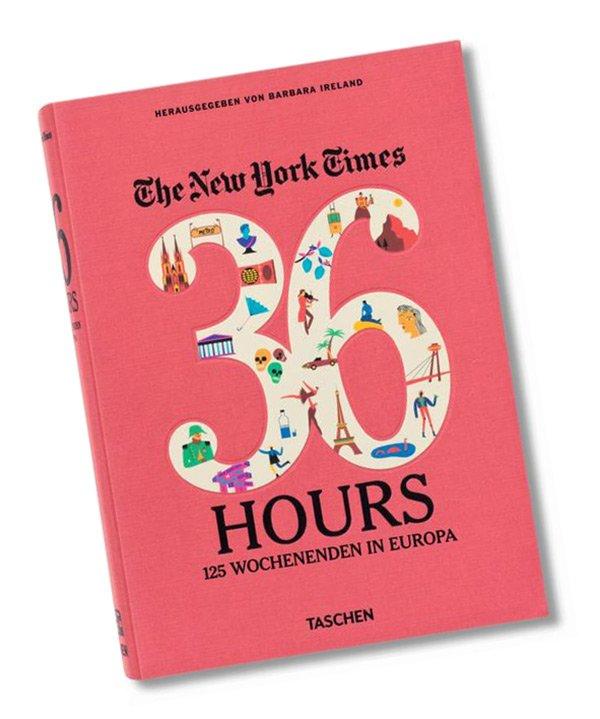 Städtetrip mit Hey Pretty: 36 Hours Europa (New York Times), Taschen Verlag 2017