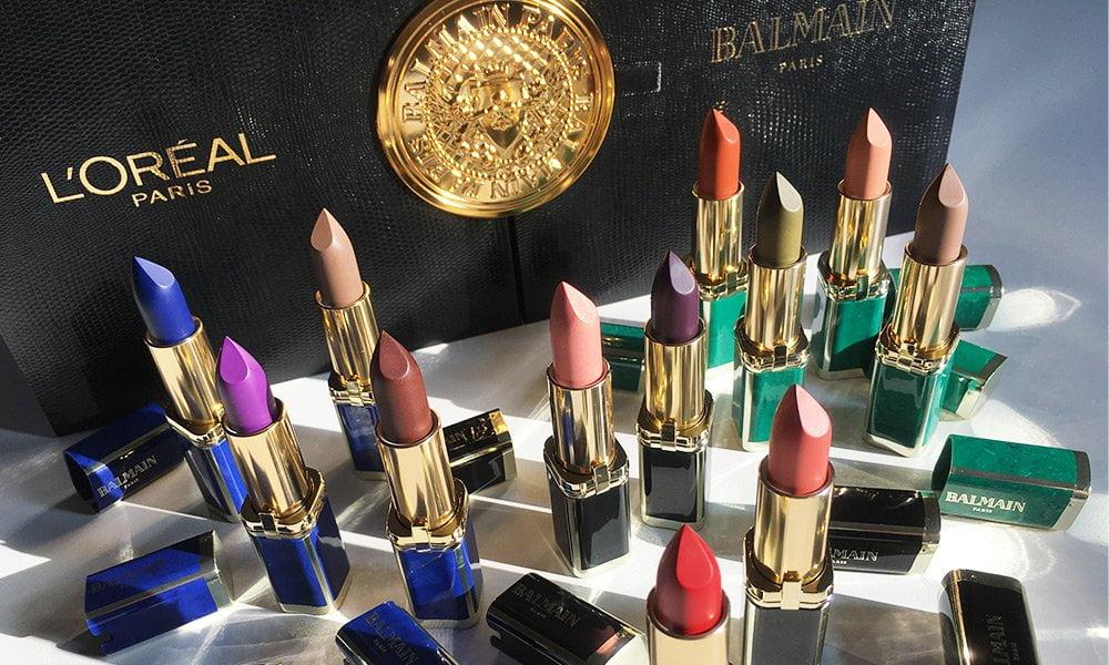 L'Oréal Paris x Balmain Paris Lippenstift-Kollektion: Review and Image by Hey Pretty Beauty Blog