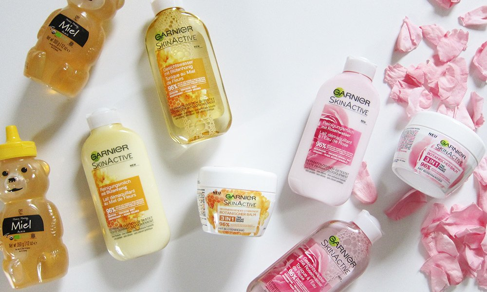 Are You a Honey or a Rose? Garnier SkinActive Hautpflege-Review auf Hey Pretty