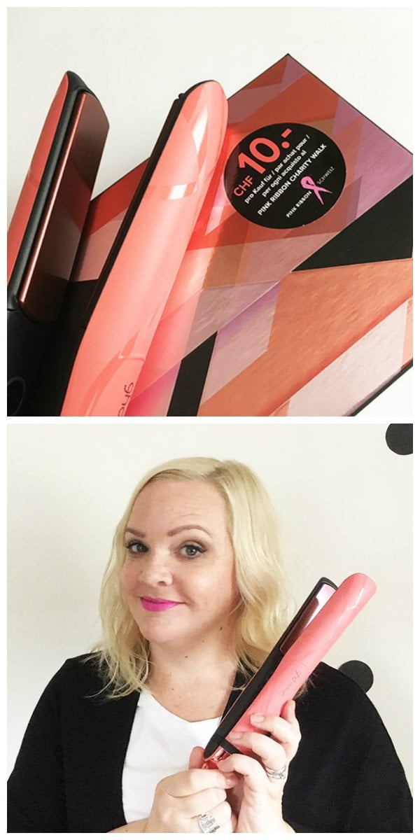 ghd pink blush Limited Edition Collection (Pink Ribbon 2017), Review und Tutorial von Hey Pretty Beauty Blog
