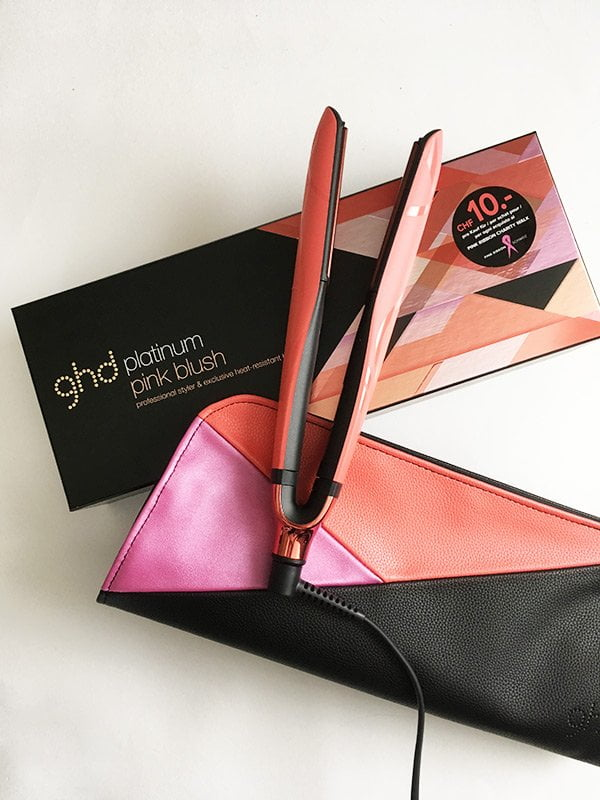 ghd pink blush Styler (V gold), Image and Review by Hey Pretty