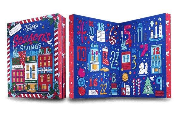 Kiehl's Adventskalender 2017 – Hey Pretty Roundup