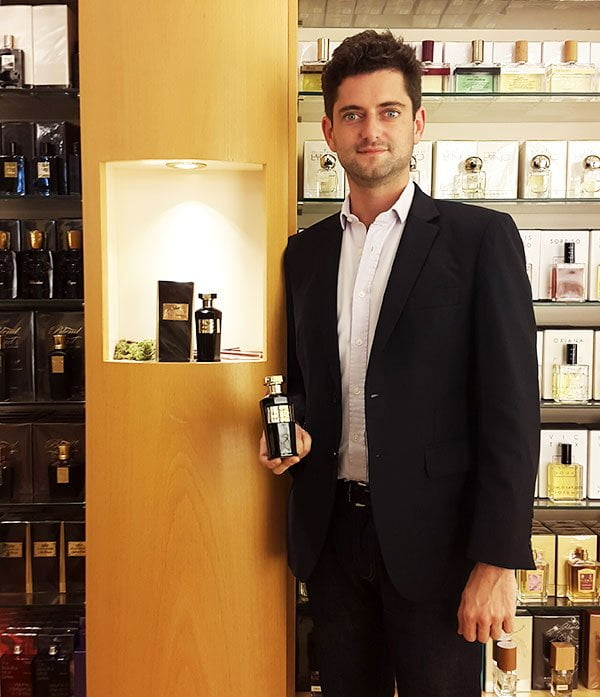 Amouroud PR-Event at Parfümerie Osswald, Denis Roubinet (Hey Pretty Perfume Review)