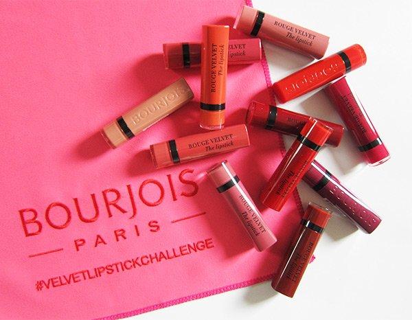 Bourjois Rouge Velvet The Lipstick: Alle 12 Farben (Image by Hey Pretty)