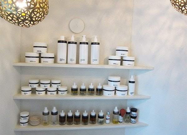 Gesichtsbehandlung mit Team Dr. Joseph Produkten bei Hammam Basar Zürich