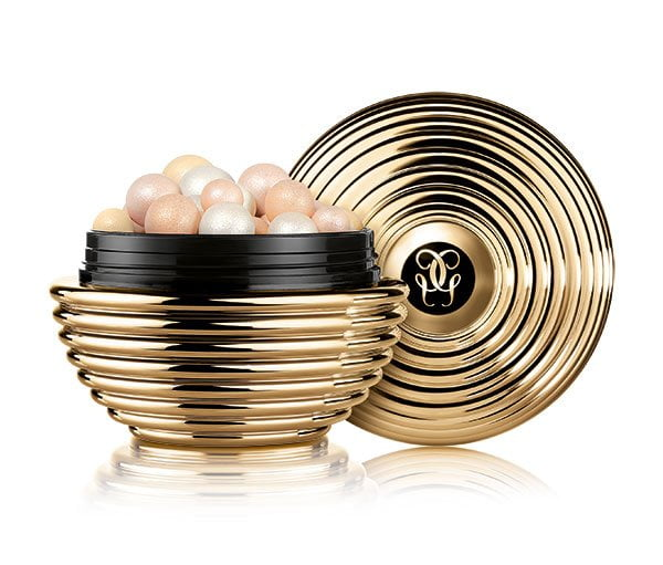 Guerlain Météorites Gold Pearl (Christmas Collection 2017), PR Image and Review on Hey Pretty