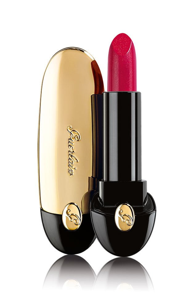 Guerlain Rouge G in 822 Glamorous Cherry (Christmas Collection 2017)