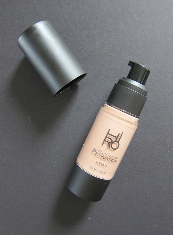HIRO Natural Cosmetics No Doubt Foundation (Erfahrungsbericht Hey Pretty)