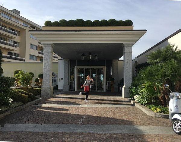 Hotel Eden Roc Ascona: Hey Pretty bei der Ankunft zu #DELICIOUSTICINO