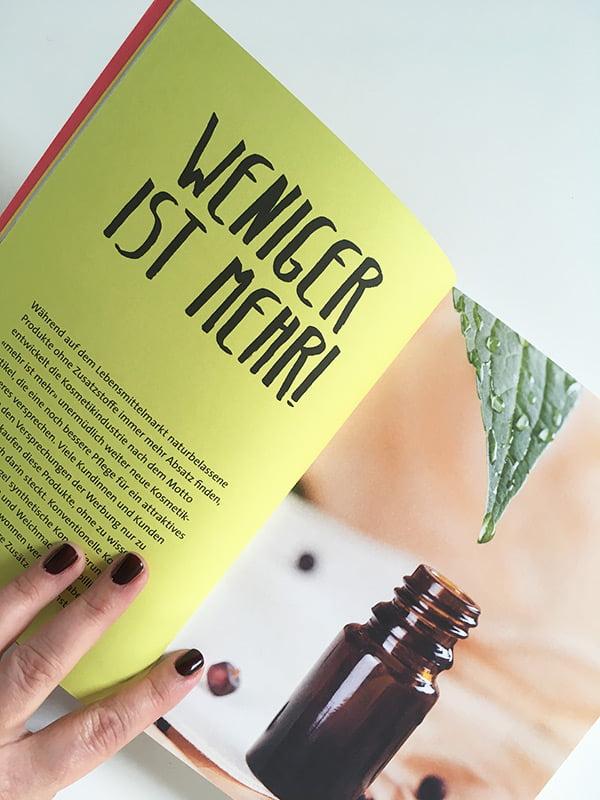 Detailbild aus Daniela Thüring: Frische Kosmetik (Reinhardt Verlag): Buchreview auf Hey Pretty Beauty Blog