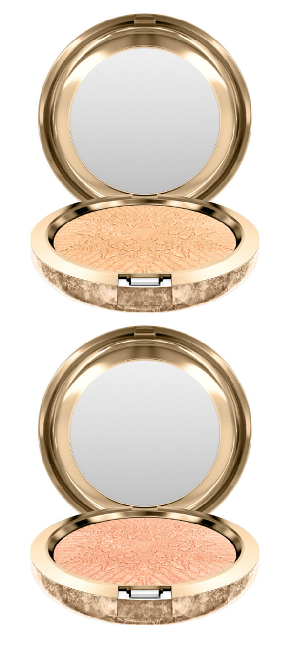MAC Snow Ball Face Powder in Happy Go Dazzlingly and Here Comes Joy (Holiday 2017 Collection)