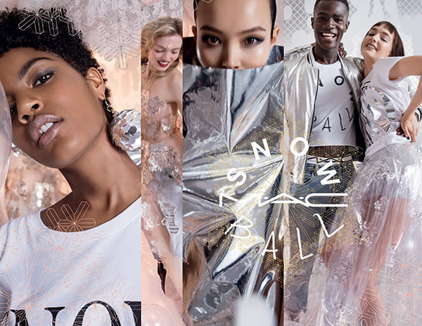 MAC Snow Ball Holiday Collection 2017: PR Image with Models –Preview on Hey Pretty Beauty Blog