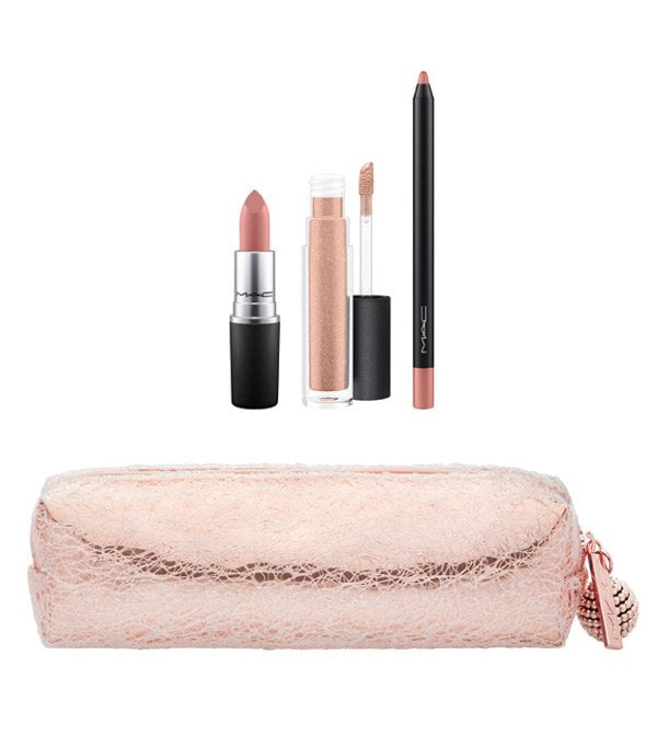 MAC Snow Ball Lip Bag in Nude (Holiday Collection 2017)