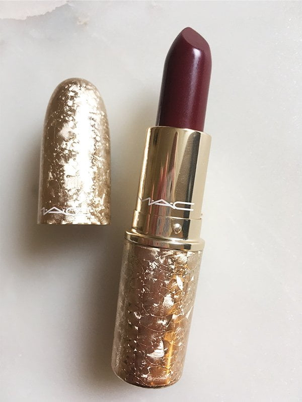 MAC Snow Ball 2017 Collection: Snow Ball Lipstick in Elle Belle (Image by Hey Pretty)