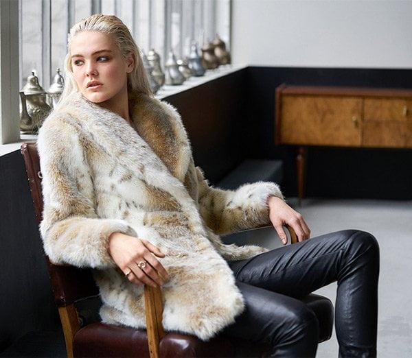 Hey Pretty Fashion Flash: Wintermäntel 2017 (Kunstpelz-Mantel Snow Knight von Fuzz Not Fur)