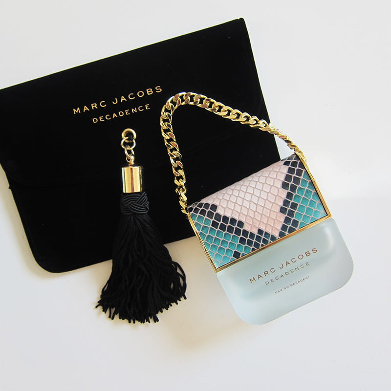 Marc Jacobs Decadence «Eau So Decadent», Image and Review by Hey Pretty