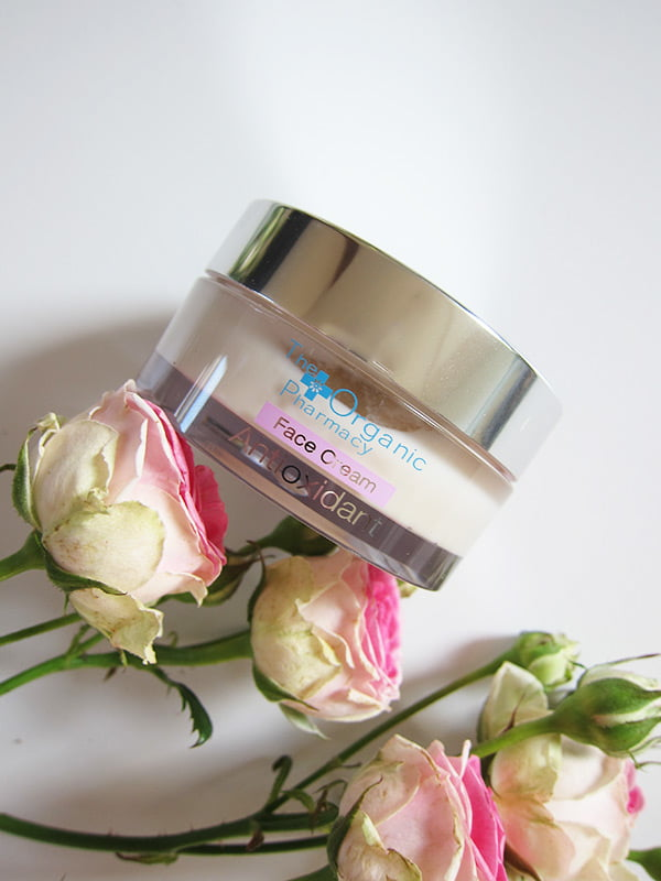 The Organic Pharmacy Antioxidant Face Cream (Review and Image by Hey Pretty): Neu bei Marionnaud Schweiz erhältlich!