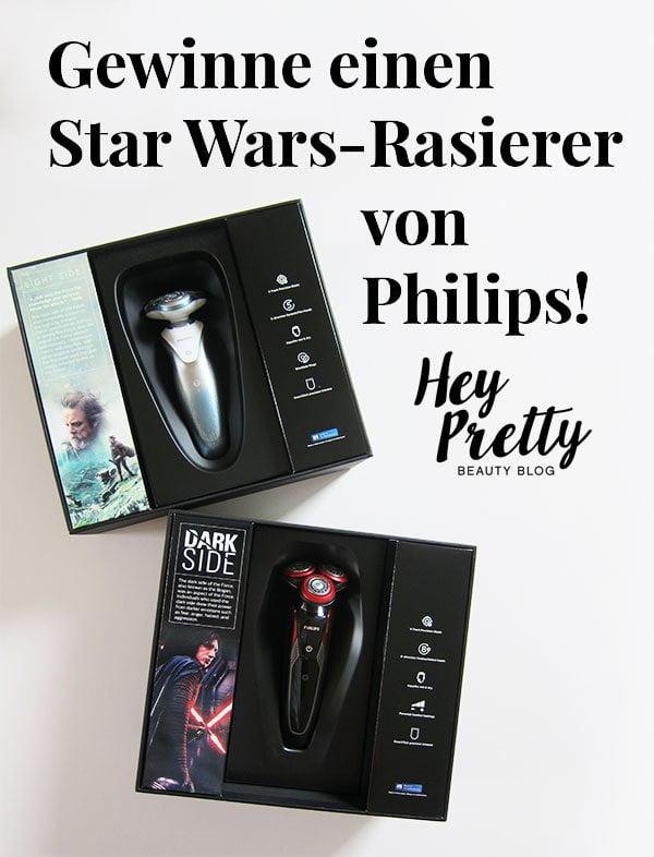 Philips Star Wars Rasierer SW7700 und SW9700: Review und Gewinnspiel auf Hey Pretty Beauty Blog