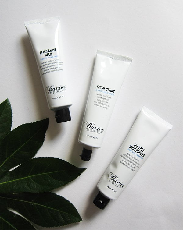 Baxter of California Balm, Scrub and Moisturizer (Review and Image by Hey Pretty Beauty Blog), available at Majic.de
