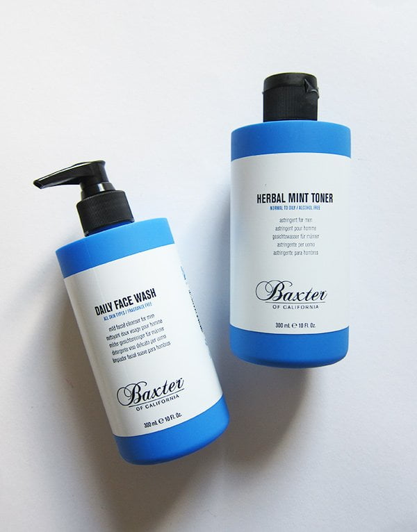 Baxter of California Daily Face Wash and Toner (Grooming for Me), Hey Pretty Beauty Blog