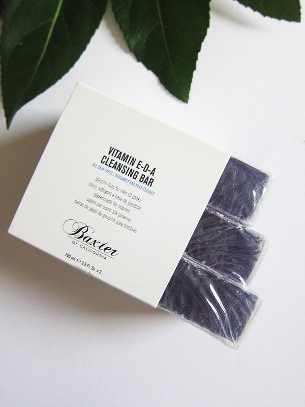 Baxter of California Vitamin E D A Cleansing Bar (Review and Image by Hey Pretty)