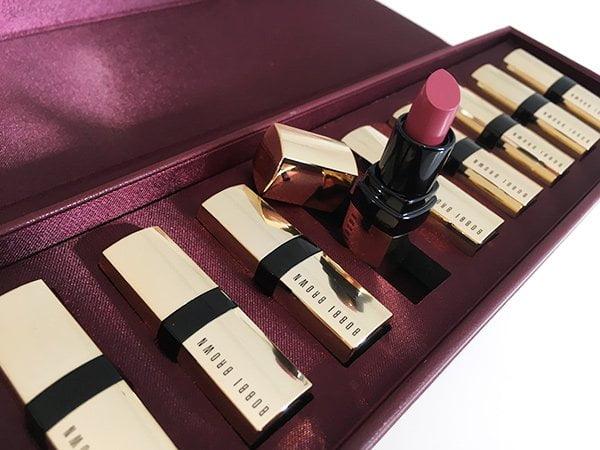 Bobbi Brown Luxe Classics MIni Lip Set (Christmas 2017), Image by Hey Pretty Beauty Blog