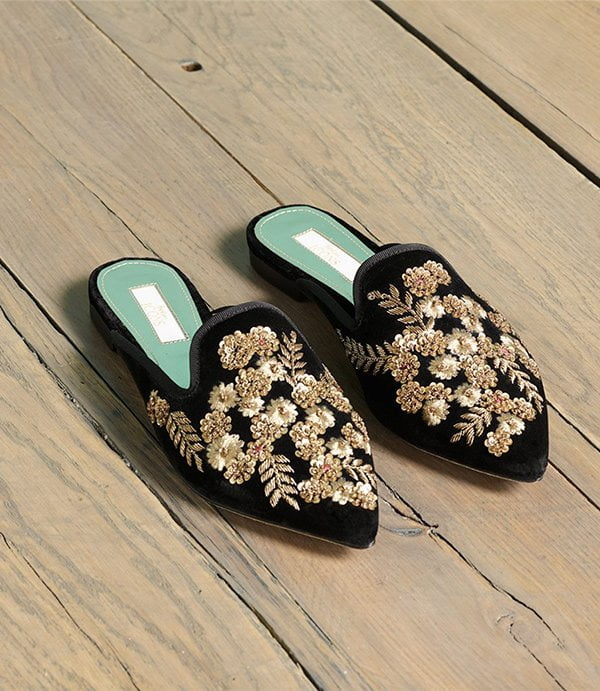 Boden Cynthia Flats (Hey Pretty Party Shoes)