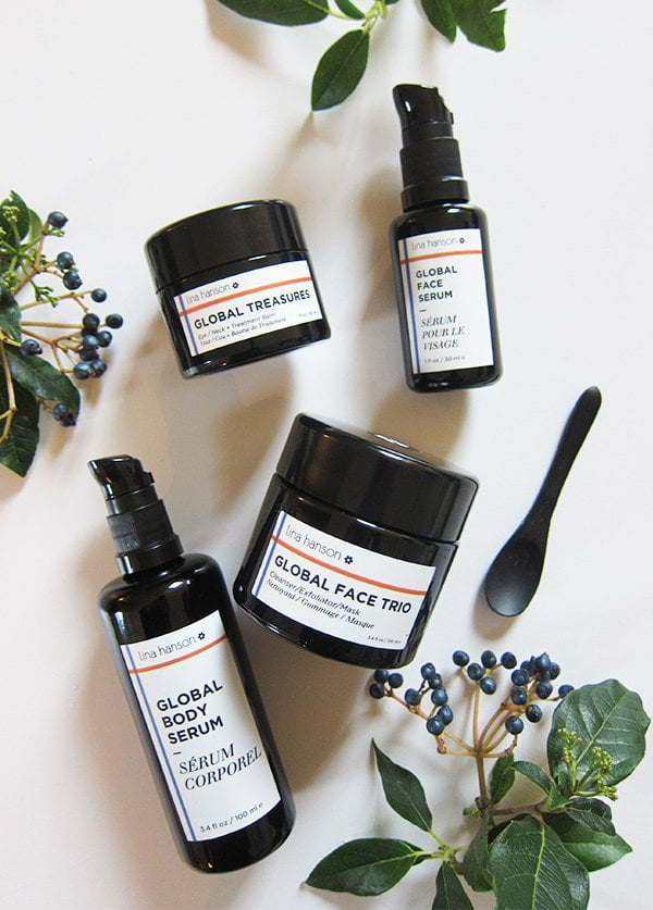 Lina Hanson Global Beauty: Organic skincare review on Hey Pretty