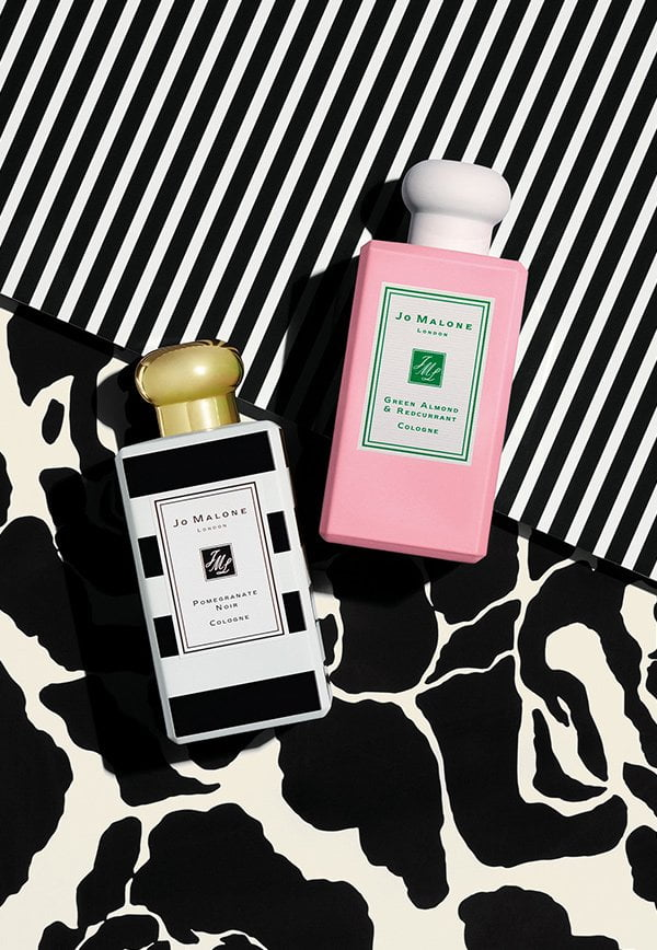 Crazy Colorful Christmas 2017: Jo Malone London Green Almond & Redcurrant Cologne and Pomegranate Noir, PR Image