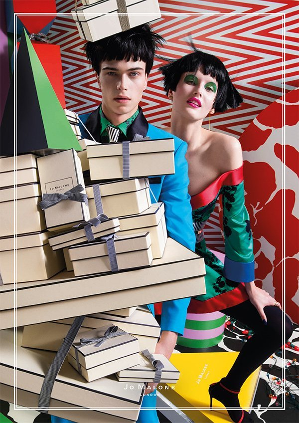 """PR Visual of Jo Malone London's """"Crazy, Colourful Christmas"""" collection 2017"""