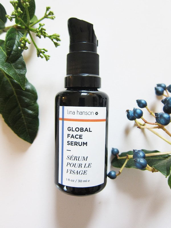 Lina Hanson Global Face Serum (Image and Review by Hey Pretty)