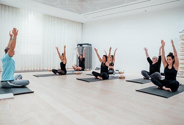 Lipton QualiTeaTime Event im Dolder Zürich: Ready for Yoga (Image by David Biedert for Lipton)