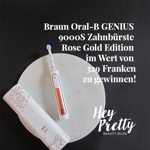 Verlosung Oral-B Genius 9000S Rosegold Zahnbürste auf Hey Pretty: Das perfekte Weihnachtsgeschenk!