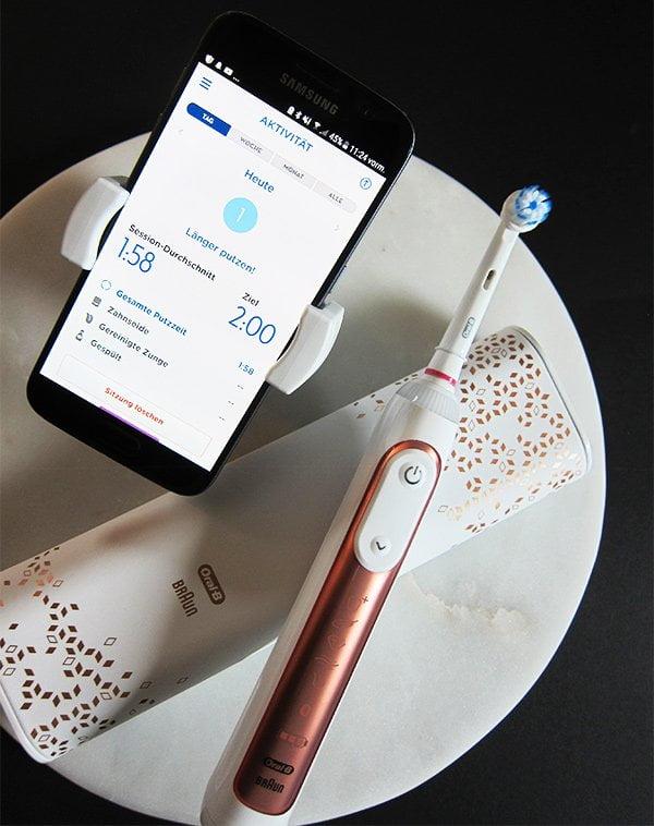 Braun Oral-B GENIUS 9000S Rose Gold Edition: Wiederaufladbare Zahnbürste zu Gewinnen (Review und Giveaway auf Hey Pretty)